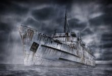 Off the coast of the United States discovered 9 ghost ships