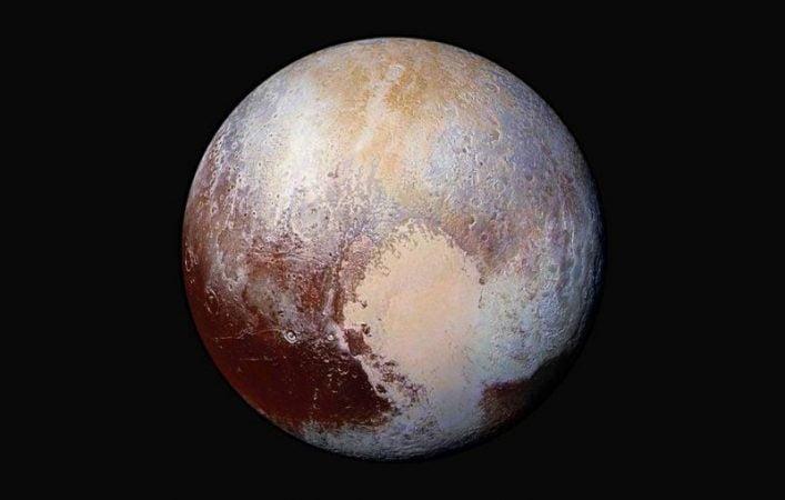 Pluto was originally an ocean planet