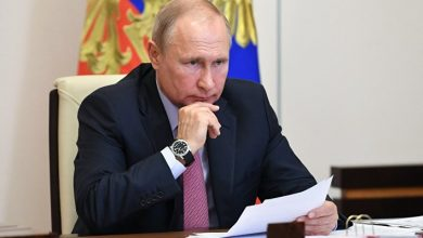 "Putin says the ""deep domestic crisis"" in the US"