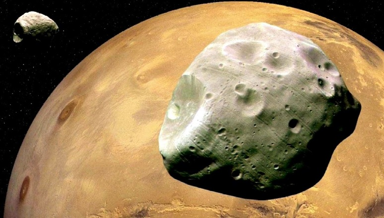 Scientists have discovered how the satellite of Mars Phobos was formed
