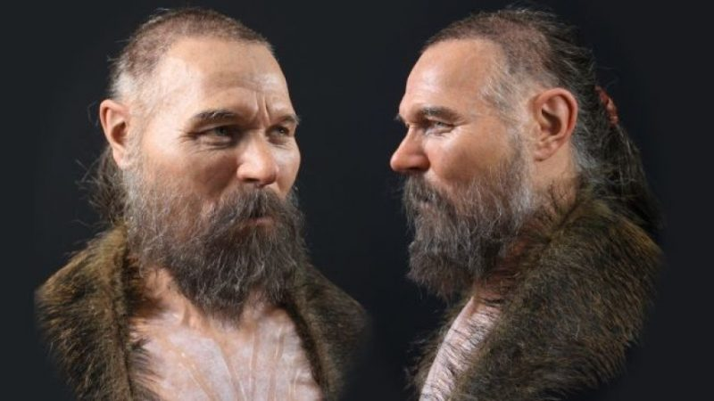Scientists recreated the face of a man who died 8 000 years ago