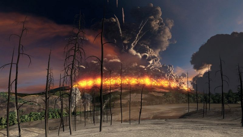 Scientists reported catastrophic in the history of the Earth ancient eruptions