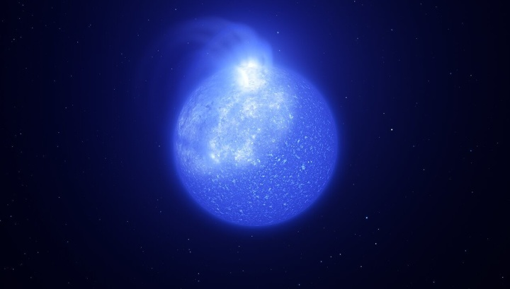 Strange spots and powerful flashes discovered on incredibly hot stars