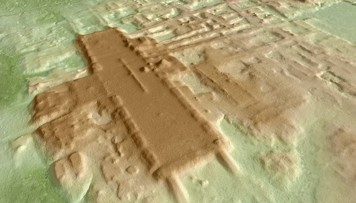 The largest and oldest Mayan monument found in Mexico