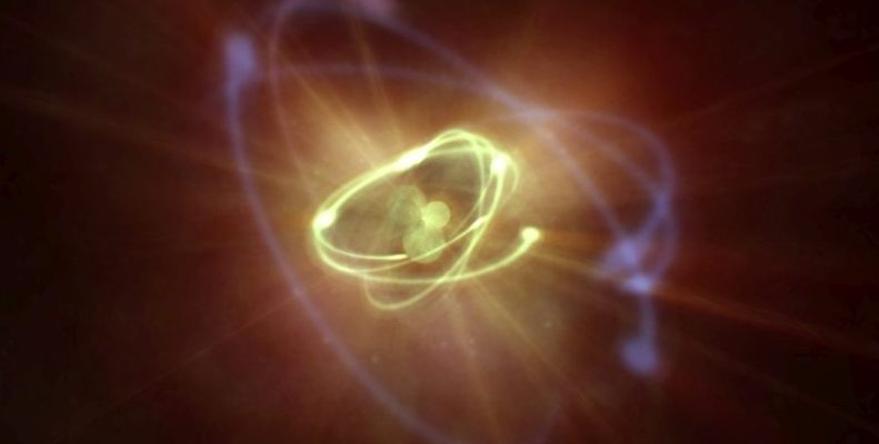The neutron lifetime was first measured in space