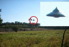UFO flew over a Polish village