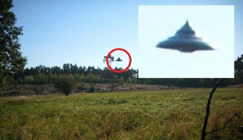 UFO flew over a Polish village