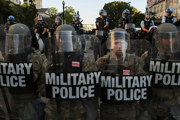 US National Guard in Washington 10