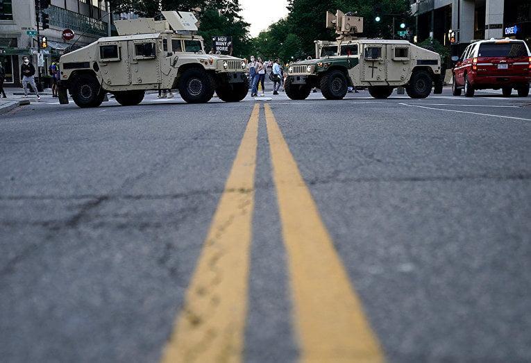 US National Guard in Washington