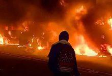 how the USA burn