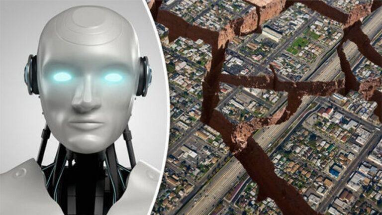 AI earthquakes