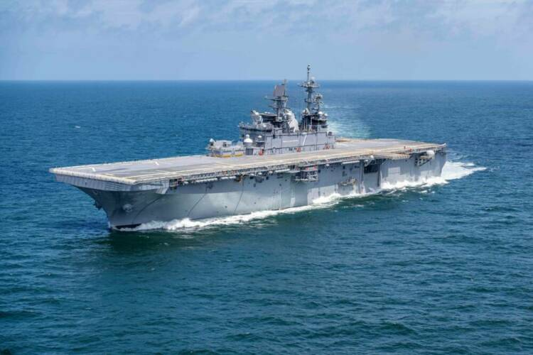 American Navy commissioned the versatile landing ship USS Tripoli