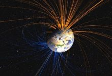Earths magnetic field changes much faster than expected