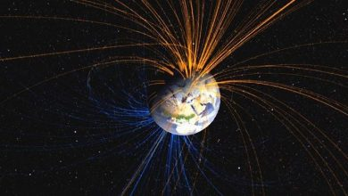 Photo of Earth's magnetic field changes much faster than expected