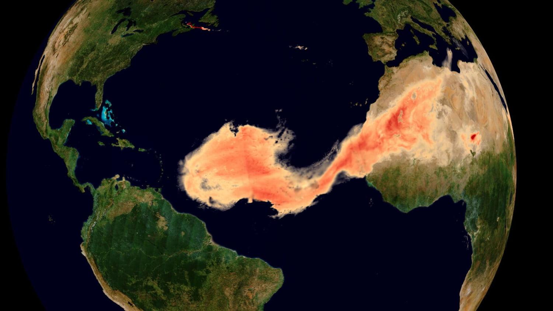 Gigantic Godzilla dust stream flows from Sahara to US