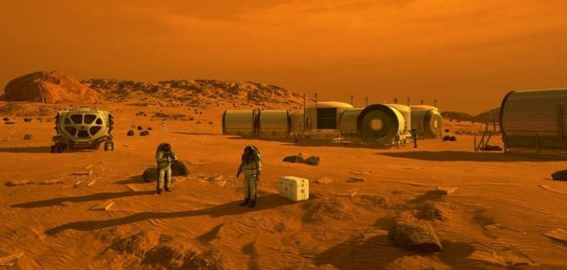How many people do you need to colonize Mars