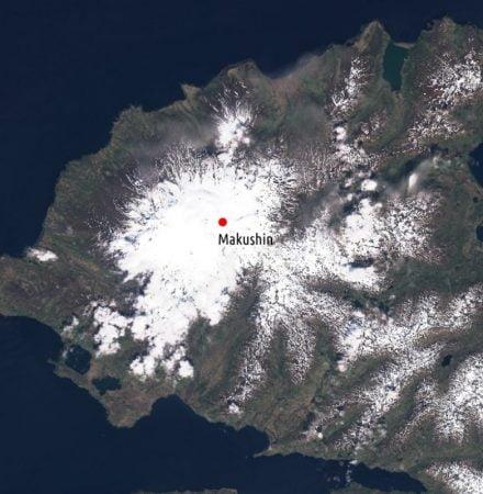 Makushin volcano Alaska