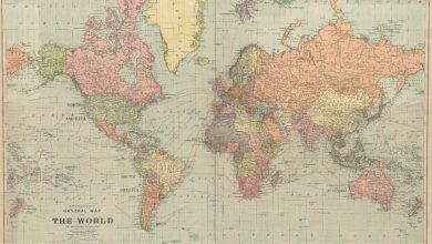 Photo of Many states no longer exist: the World Map of 1922 hit the Net