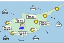 Meteorologists the weather in Cyprus is crazy