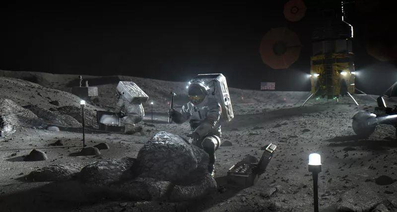 NASA plans to turn lunar regolith into oxygen