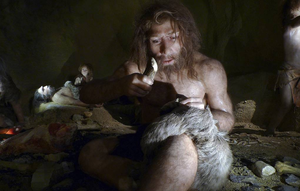 Neanderthals are very sensitive to pain