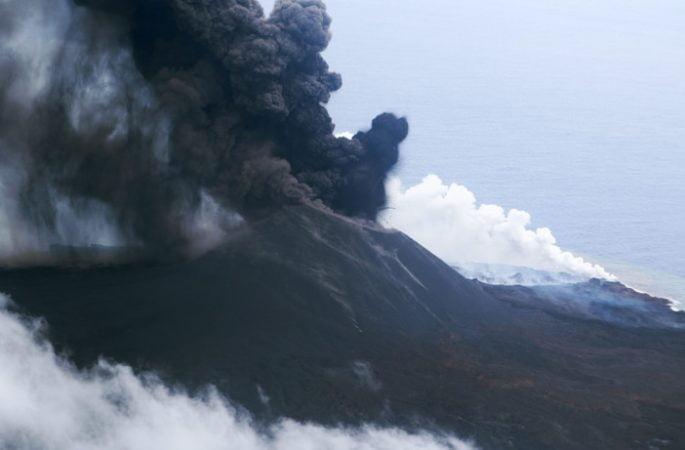 Nishinoshima volcano 4