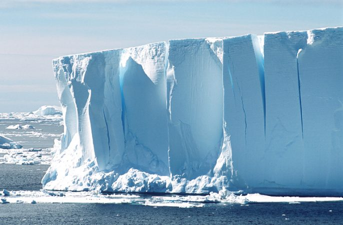 Not all icebergs are white