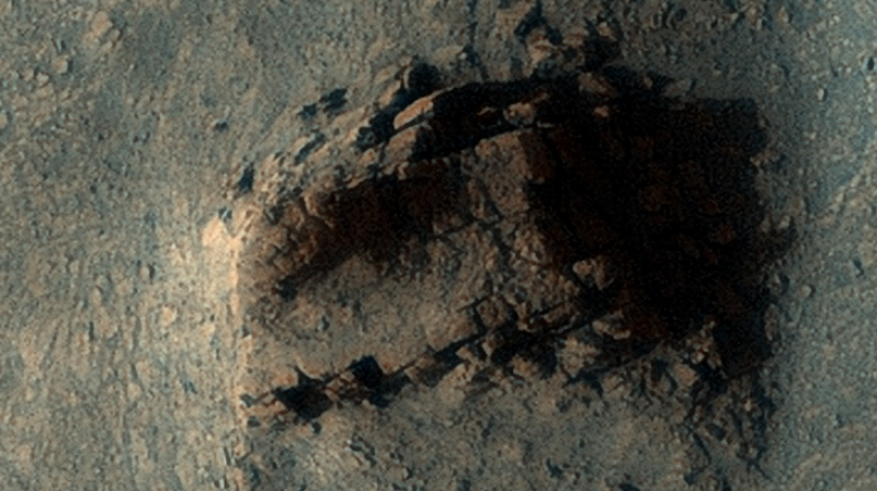 On Mars discovered the ruins of an ancient structure