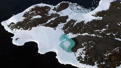 Record Warming Recorded at South Pole