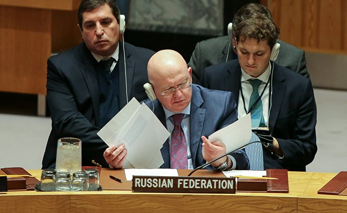 Russia and China refuse humanitarian aid to Syrian militants
