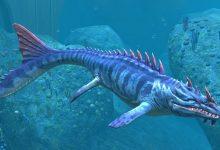 Sakhalin fishermen caught a dinosaur in the Pacific Ocean