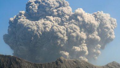 Scientists warn of a possible major eruption of Sakurajima volcano