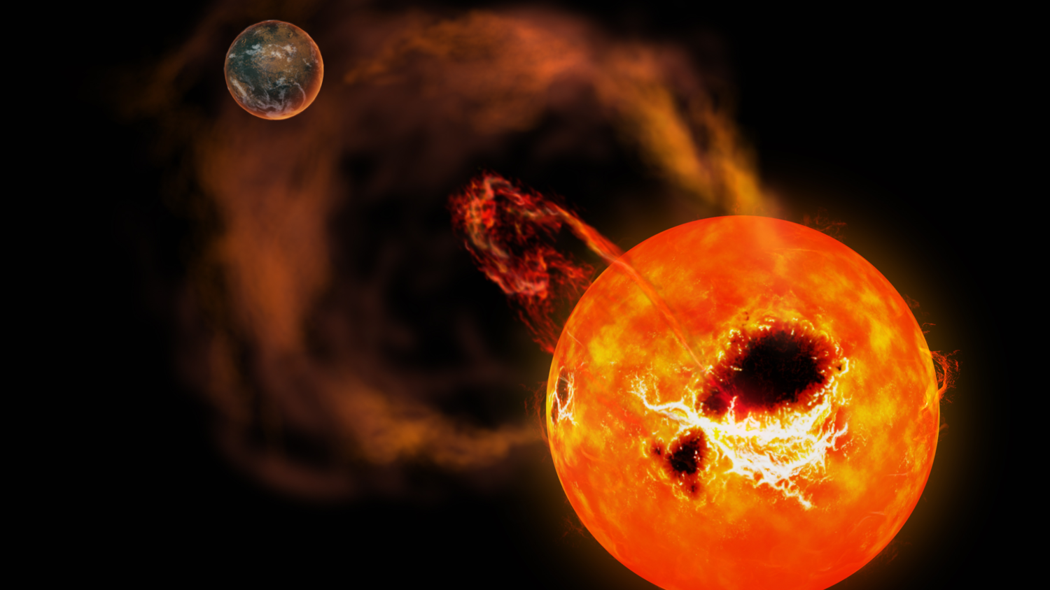 Superflare occurred on a distant star a powerful phenomenon alarmed scientists