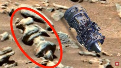 Photo of The famous ufologist found a jet engine on Mars