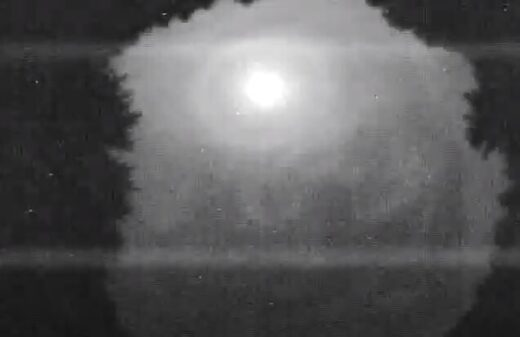 Three American states observed a meteorite fall