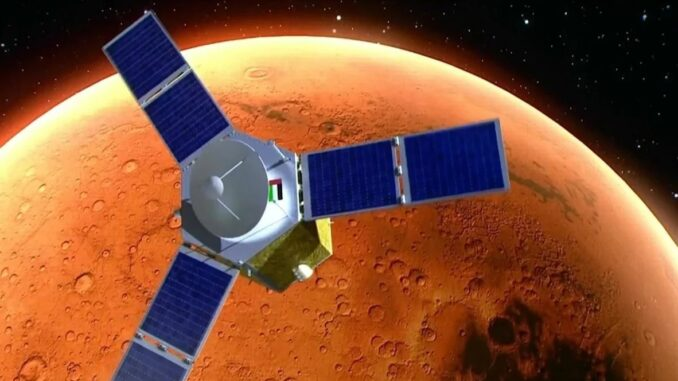 UAE sent Hope space probe to Mars