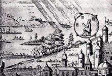 UFO landing in France in 1790