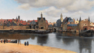 View of Delft the longstanding mystery of the painting by Jan Vermeer solved