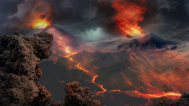 Volcanic activity has increased around the world