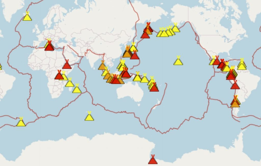 Volcanic activity is growing around the world