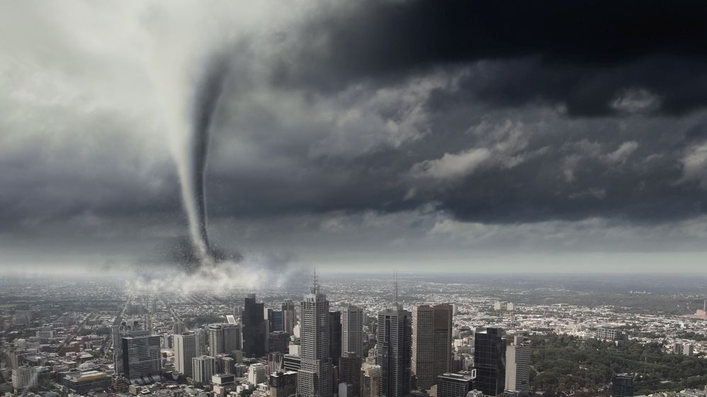 Weather stations record intensification of extreme events