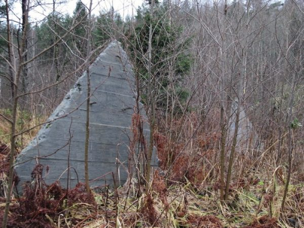 What strange pyramids are found in Russian forests 7
