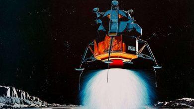Lunar lander emissions may interfere with lunar ice exploration