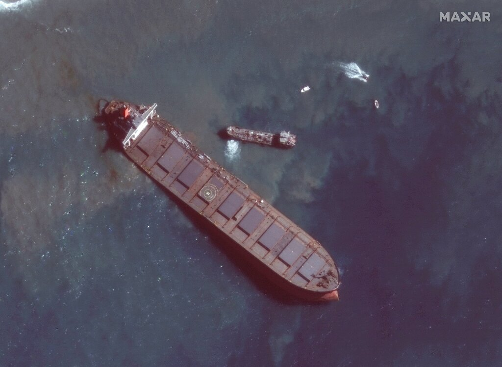 Mauritius avoids re oil spill
