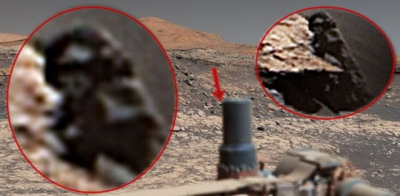 Someone on Mars is watching the Curiosity rover again