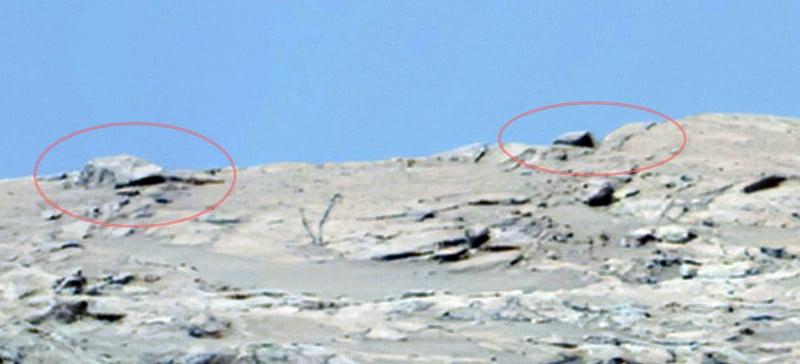 UFO crash on Mars 2
