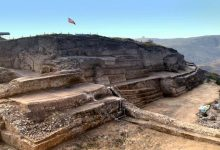 huge ancient pyramid found in China