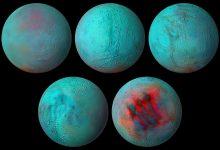 Fresh ice found on Enceladus