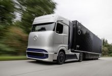 Hydrogen truck Mercedes Benz
