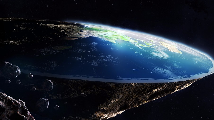 Russian musician said the Earth is flat